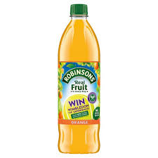 Robinsons Cordial No Added Sugar Orange