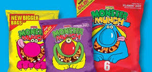 Monster Munch Flaming Hot