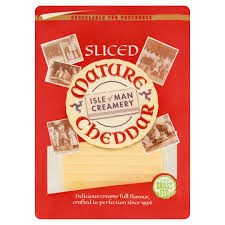 Manx Cheese Mature Cheddar Slices