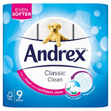 Toilet Roll - Andrex Toilet Roll 9 Pack