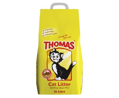 Cat Litter - Thomas 16 ltr