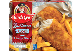 Birds Eye Battered Cod
