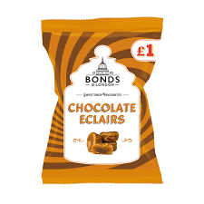 Bonds Sweets Share bag Chocolate Eclairs