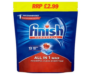 Dishwasher Tablets - Finish All in One