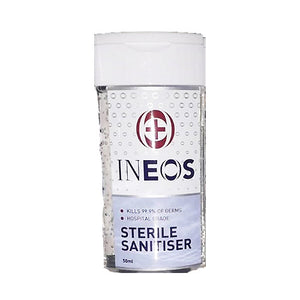 Ineos Hand Sanitizer,  Hospital Grade 50ml.