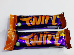 ORANGE TWIRL LIMITED EDITION CADBURY'S