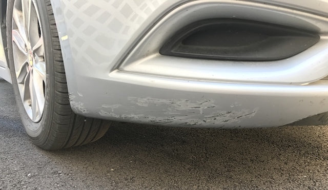 Why does your bumper lip get damaged?