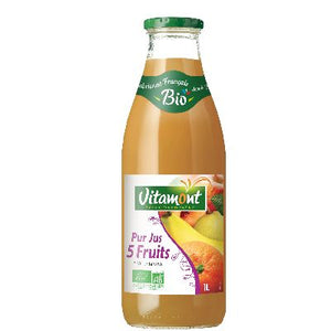 JUS COCKTAIL 5 FRUITS 1L