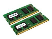 8GB Crucial DDR3 PC3-12800 1600MHz SO-DIMM CL11 Dual Memory Kit (2x4GB)