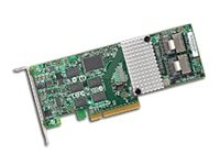 8-PORT Int, 6GB/S Sata+sas, Pcie 2.0, 512MB; In The Box: 3WARE Sas 9750-8I, Qig