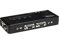 4 Port KVM Switch w/PS2, Audio Support