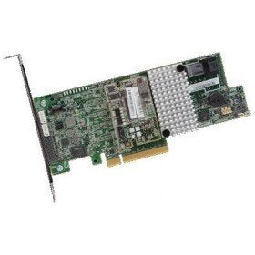 LSI MegaRAID SAS 9361-4i 4-Port 12Gb/s SAS+SATA PCI-Express 3.0 Low Profile RAID Controller, Single