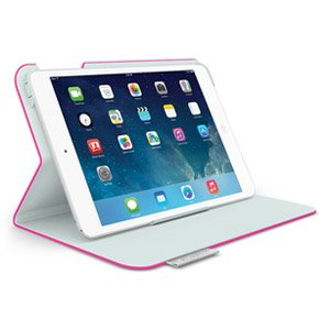 Open Box Logitech Folio Protective Case for iPad mini - Fantasy Pink
