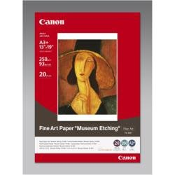Canon Museum Etching Photo Paper, 13 x 19 Inches, 20 Sheets (1262B007)