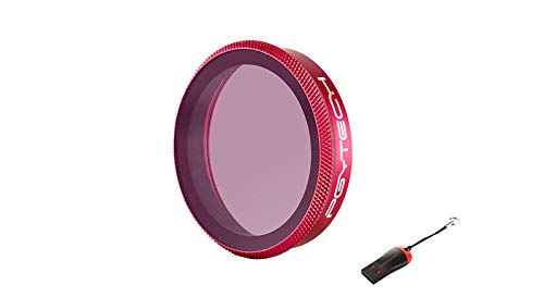 PGYTECH OSMO Action UV Filter (Professional) with LUCKYBIRD USB Reader