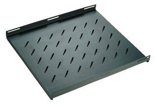 19in Cabinet Fixed Shelf - 1U, 600mm
