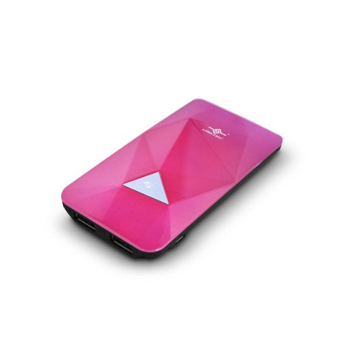 Vantec Power Gem 3500 Power Bank for iPad/iPod, Pink (VAN-350BB-PK)
