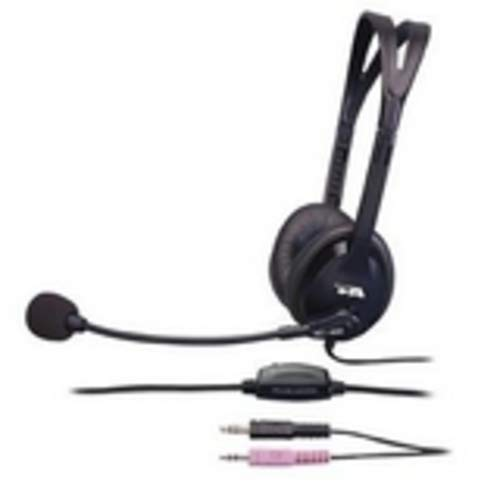 Cyber Acoustics AC400MV AC-400MV Speech Recognition Headset Over-The-Head
