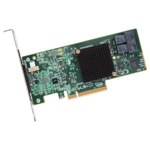 LSI Broadcom SAS 9300-8i 8-port 12Gb/s SATA+SAS PCI-Express 3.0 Low Profile Host Bus Adapter