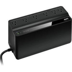 SCHNEIDER ELECTRIC BN450M-CA APC Back-UPS, 6 Outlets, 450VA, 120V, Retail