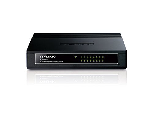TP-LINK TL-SF1016D 16-Port 100Mbps Desktop Switch