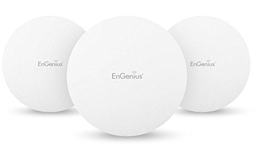 EnGenius Technologies EAP1250-3Pack (3) 802.11AC Wave 2, Concurrent Dual-Band, Compact size Wireless Access Point, Standard PoE (Power Adapter NOT included)