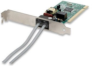 56 K Modem PCI Card