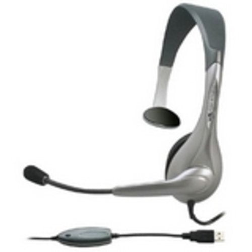 Cyber Acoustics 2J94306 AC-840 Internet Communication USB Mono Headset