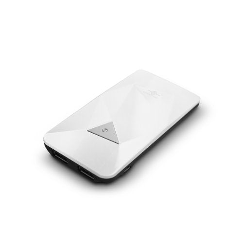 Vantec Power Gem 3500 Power Bank for iPad/iPod, White (VAN-350BB-WH)