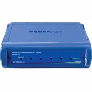 TRENDnet 2Q72539 TE100-S5 5-port Fast Ethernet Switch