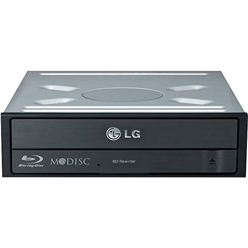 LG BDRW DL 16X SATA INT BLACK INT MDISC WITH SW CD-ROM Drives