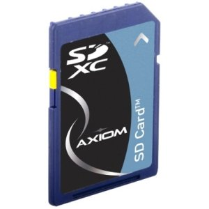 AXIOM 64GB SECURE DIGITAL EXTENDED CAPACITY (SDXC) CLASS 10 FLASH CARD