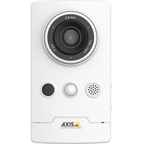 Axis Communications 0891-001 1920 X 1080 Network Surveillance Camera, 2.8mm Lens, White