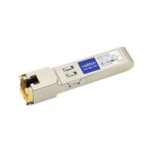 Addon-Networking SFP Mini-GBIC Transceiver Module, RJ-45 (SFP-GE-T-H-AO)