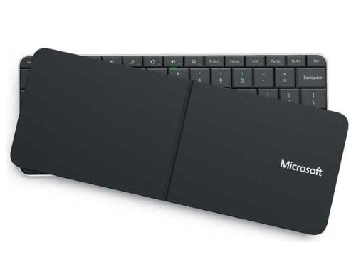 Open box Microsoft PL2 Wedge Mobile Bluetooth Keyboard, French Canadian (U6R-00003)