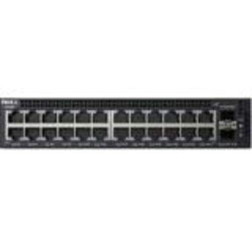 Dell Networking X1026 - Switch - 24 Ports - Managed - Rack-mountable, Black (463-5537)