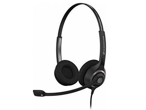 Sc260 Circle Series Headset.Wideband, Dual-Sided Professional Communication Head