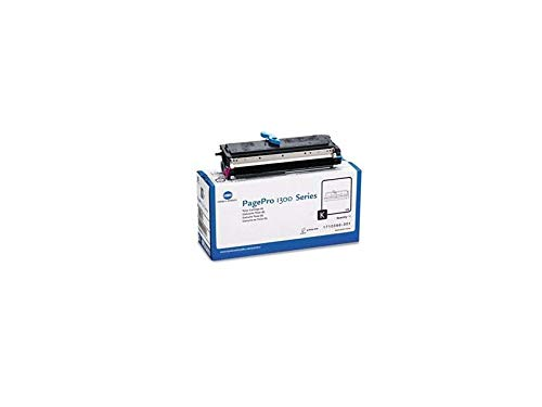 Konica Minolta Toner Cartridge -Black -Laser -3000 Page -1 Each (Discontinued by Manufacturer)