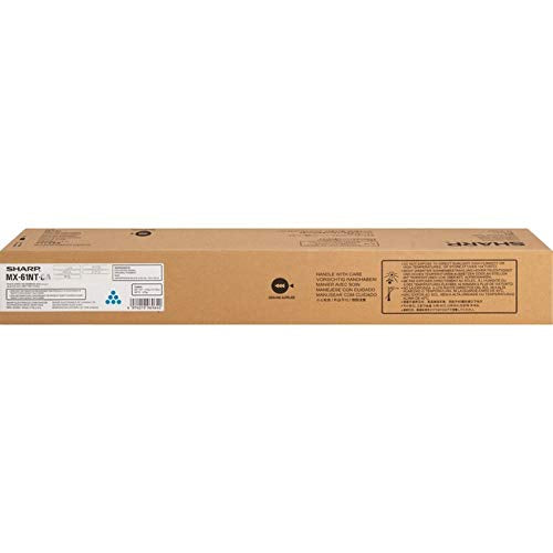 Sharp MX-60NTCA Cyan Toner Cartridge for USE in MX3050N MX3070N MX3550N MX3570N