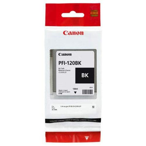 Canon PFI-120BK Pigment Black Ink Tank 130ml by CES Imaging