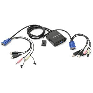 IOGEAR 2BX0272 GCS72U KVM Switch with Audio
