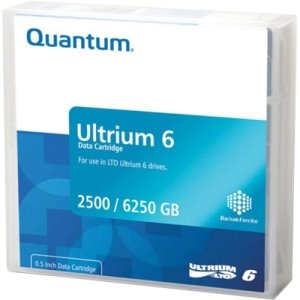 Lto6 Ultrium Pre-Labeled Media Cartridge Library Pack