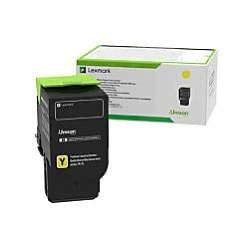 Lexmark 78C10YE Yellow Toner Cartridge