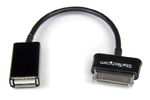 StarTech USB OTG Adapter Cable for Samsung Galaxy Tab - Connect USB Devices to Samsung Galaxy Tab (SDCOTG)