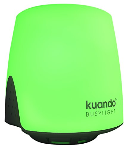 PLENOM AMERICAS Kuando Busylight UC Omega - for Microsoft Lync/Skype for Business, Cisco Jabber & Various UC Platforms (Adhesive Mount)