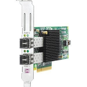 HP 82E 8GB Dual-Port PCI-E FC Host Bus Adapter AJ763B