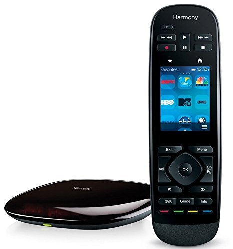 Refurbished Logitech Harmony Ultimate Remote with Customizable Touch Screen and Closed Cabinet RF Control