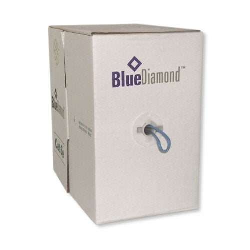 BlueDiamond 6605 Solid Utp Cat6 Spool, Blue, 500ft