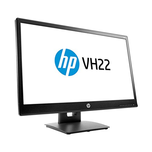 HP 21.5-Inch Screen LED-Lit Monitor Black (V9E67AA#ABA)