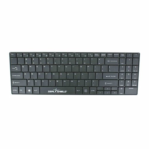 CLEANWIPE Wireless Keyboard (Black)